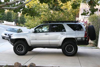 African Outback Roof Rack Installation on a 4Runner ...