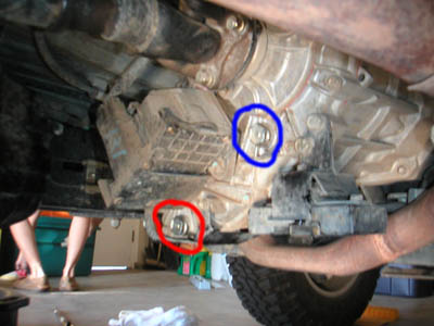 Web Transfer Case Plugs on Chevy Front Differential Diagram
